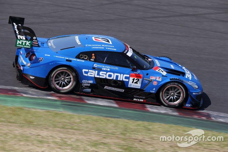 #12 Nissan GT-R (Impul) - Daiki Sasaki (JPN/28) & James Rossiter (GBR/36): Sasaki war 2012 japanischer Formel-3-Meister und holte drei Super-GT-Siege, Rossiter ist auch in Europa bekannt. Er war lange Honda-Formel-1-Tester und scheiterte 2012 bei Audis DTM-Fahrersichtung. Dafür wurde er in der Super GT dreimal Gesamt-Dritter.