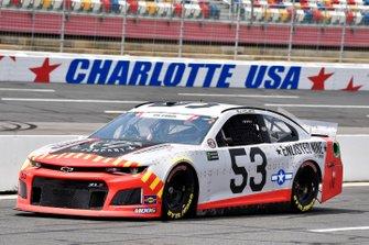 B.J. McLeod, Rick Ware Racing, Chevrolet Camaro ENLISTED NINE FIGHT COMPANY
