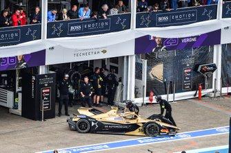 Andre Lotterer, DS TECHEETAH, DS E-Tense FE19, retires from the race