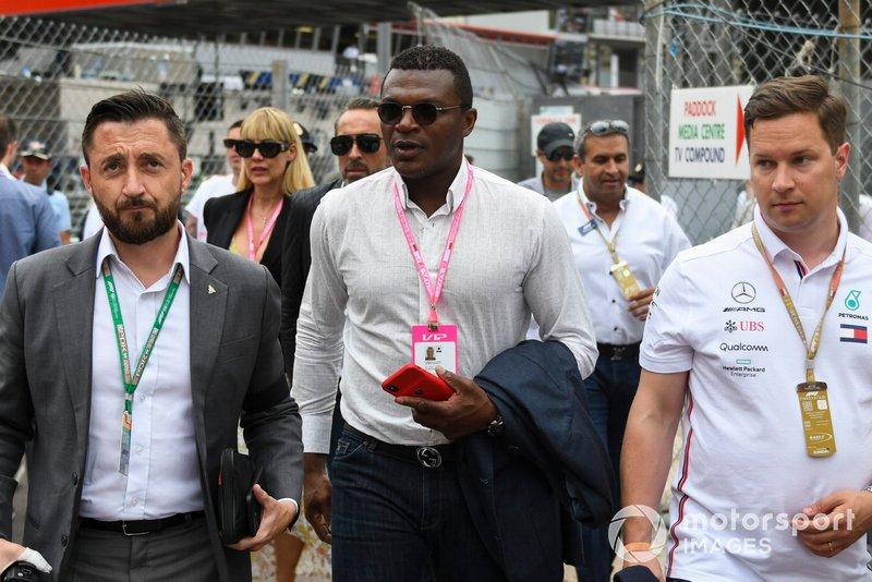 Гран При Монако: бывший футболист Марсель Десайи