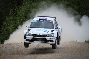 Chris Ingram, Ross Whittock, Skoda Fabia R5, FIA ERC, Rally Liepaja
