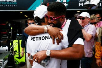 Lewis Hamilton, Mercedes AMG F1 met VIPs