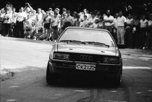 Stoyan Kolev, Boyko Ignatov, Audi Coupe Quattro