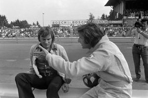 Bernie Ecclestone and Wilson Fittipaldi
