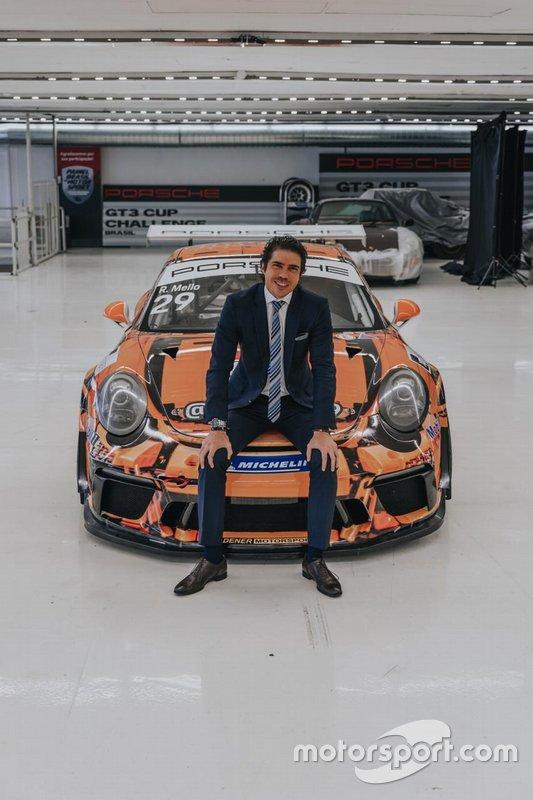 Mello e o Porsche LEGO