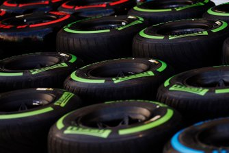 Tyres in the paddock