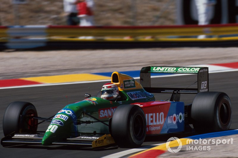 #20: Nelson Piquet (Benetton)
