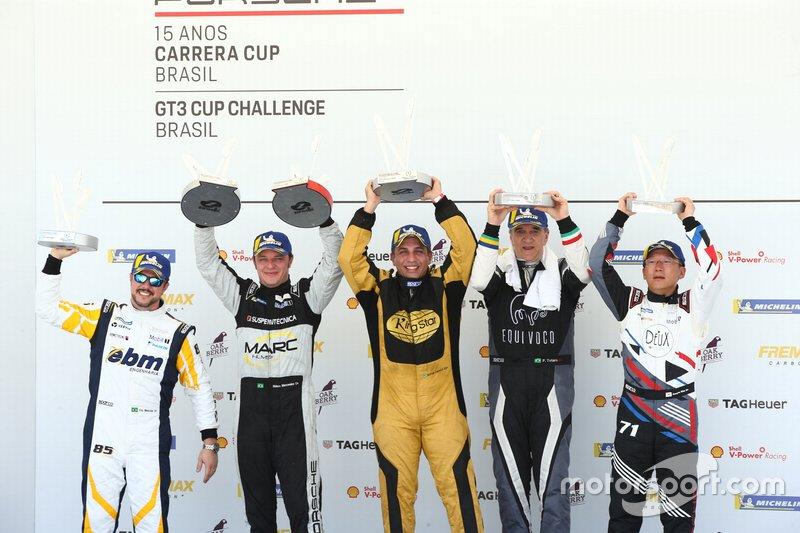 Primeiro pódio do ano - Sport 3.8 - Porsche