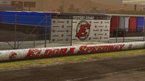 eNASCAR Heat Pro League, Eldora Speedway screenshot