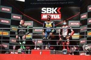 Podium: 1. Andrea Locatelli, 2. Lucas Mahias, 3. Raffaele De Rosa