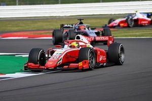 Mick Schumacher, Prema Racing , leads Nikita Mazepin, Hitech Grand Prix