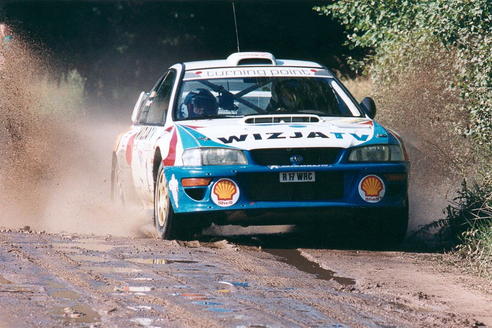Krzysztof Hołowczyc, Jean-Marc Fortin, Subaru Impreza S4 WRC '98