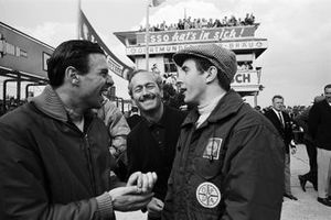 Jim Clark, Team Lotus, Colin Chapman, Team Lotus Owner, Jackie Stewart, Owen Racing Organisation
