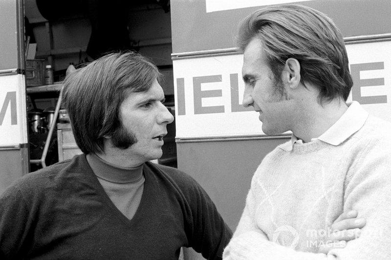 Emerson Fittipaldi y Carlos Reutemann