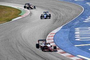 Oscar Piastri, Prema Racing, Matteo Nannini, Jenzer Motorsport e Alexander Peroni, Campos Racing