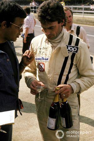Tom Pryce, Shadow DN5 Ford, en pole position
