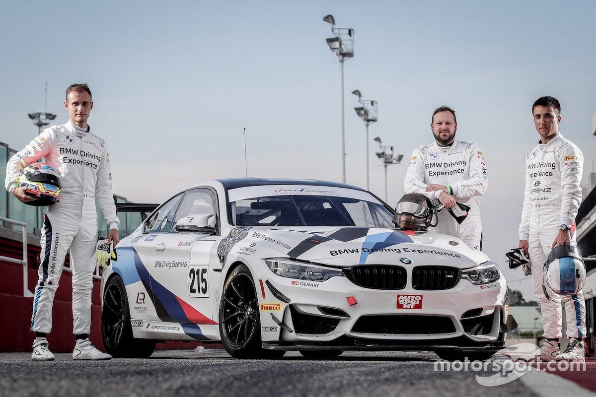 Francesco Guerra, Nicola Neri, Simone Riccitelli, BMW M4 GT4