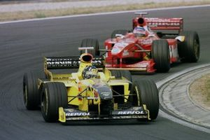 Damon Hill, Jordan 198 Mugen Honda, Jacques Villeneuve, Williams FW20 Mecachrome