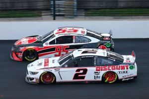 Brad Keselowski, Team Penske, Ford Mustang Discount Tire, Christopher Bell, Leavine Family Racing, Toyota Camry Rheem