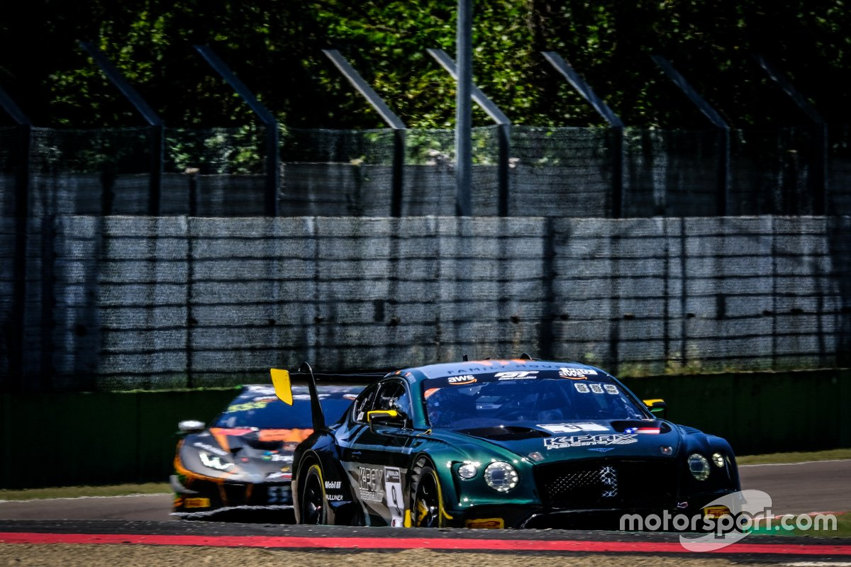 #9 K-Pax Racing Bentley Continental GT3: Andy Soucek, Jordan Pepper, Alvaro Parente