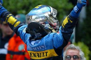 Race winner Jarno Trulli, Renault F1 Team