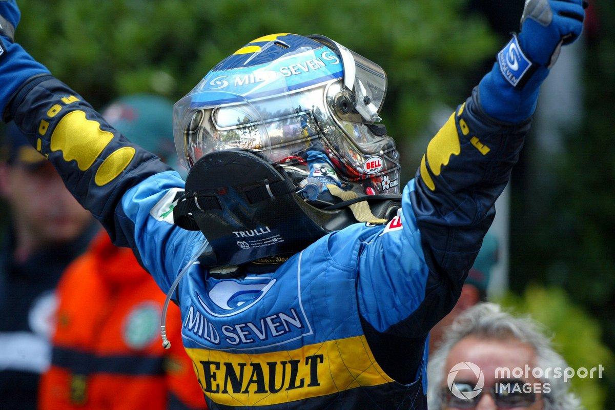 El ganador: Jarno Trulli, Renault F1 Team