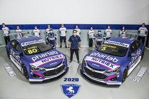 Lançamento dos carros da Cavaleiro Sports para a temporada 2020 da Stock Car, com Marcos Gomes e Denis Navarro