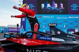 Oliver Rowland, Nissan e.Dams festeggia la vittoria