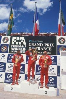 Alain Prost, McLaren, Ayrton Senna, McLaren, Michele Alboreto, Ferrari, GP di Francia del 1988