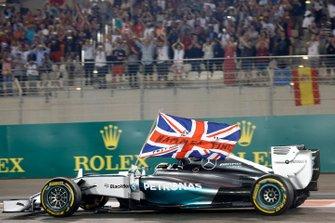 Formel-1-Weltmeister 2014: Lewis Hamilton, Mercedes F1 W05 Hybrid