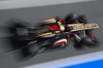 Romain Grosjean, Lotus E21 Renault