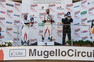 Podio: Luca Pastorelli, Krypton Motorsport, Bashar Mardini, Tsunami RT, Piergiacomo Randazzo, AB Racing