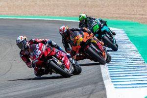Andrea Dovizioso, Ducati Team, Pol Espargaro, Red Bull KTM Factory Racing, Franco Morbidelli, Petronas Yamaha SRT