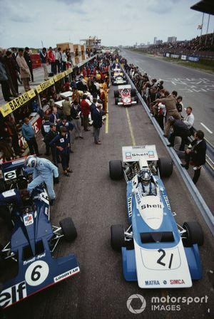 Jean-Pierre Beltoise, Matra MS120B, Francois Cevert, Tyrrell 002 Ford