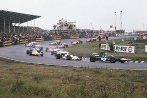 Francois Cevert, Tyrrell 002 Ford, Howden Ganley, BRM P160