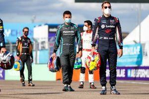 Mitch Evans, Jaguar Racing, Robin Frijns, Virgin Racing