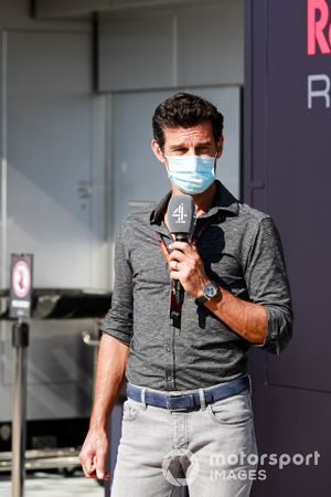 Mark Webber, Presenter