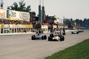 Jackie Oliver, BRM P153, Jackie Stewart, Tyrrell Racing Organisation March 701