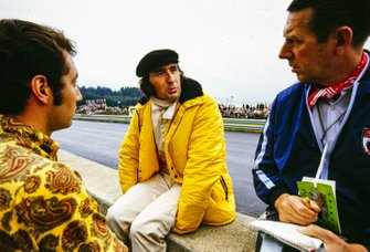 Jackie Stewart, March with Rob Walker