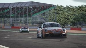 Porsche Supercup Virtual Edition, Silverstone. Larry ten Voorde, GP Elite