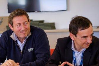 Жерар Неве, генеральный директор WEC, и Пьер Фийон, президент автоклуба ACO