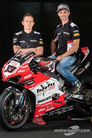 Marco Melandri, Barni Racing Team ve Marco Barnabo, Team Principal