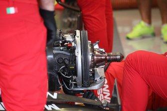 Ferrari SF90, brake detail