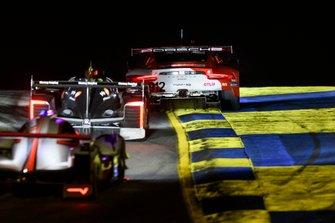 #912 Porsche GT Team Porsche 911 RSR: Earl Bamber, Laurens Vanthoor, Mathieu Jaminet, #5 Action Express Racing Cadillac DPi: Joao Barbosa, Mike Conway, Filipe Albuquerque, #7 Acura Team Penske Acura DPi: Helio Castroneves, Ricky Taylor, Graham Rahal