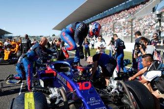 Pierre Gasly, Toro Rosso, sulla griglia