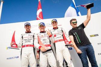2. yarış Podyum: Yarış galibi ve 2019 şampiyonu Ayhancan Güven, Pierre Martinet by Almeras, Côme Ledogar, Team 85 / Bourgoin Racing, Hugo Chevalier, Martinet by Alméras