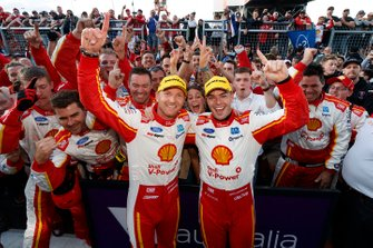 Winners Scott McLaughlin, Alexandre Prémat, DJR Team Penske Ford