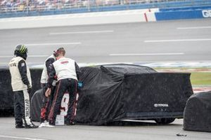 Parker Kligerman, Gaunt Brothers Racing, Toyota Camry TRD 40th Anniversary rain delay