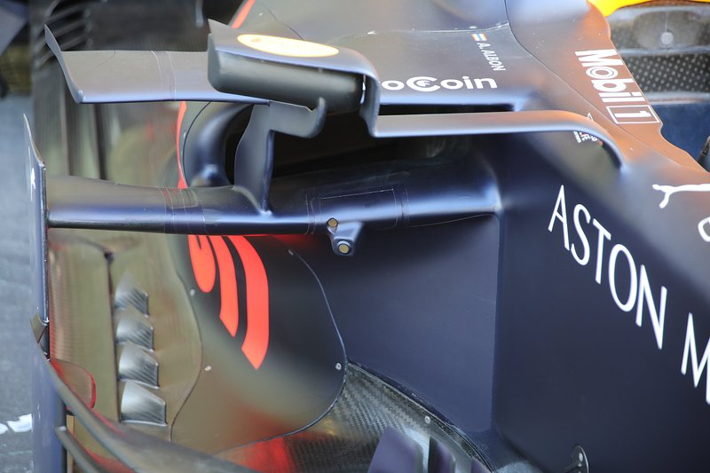 Pontones del RB15 de Red Bull Racing RB15