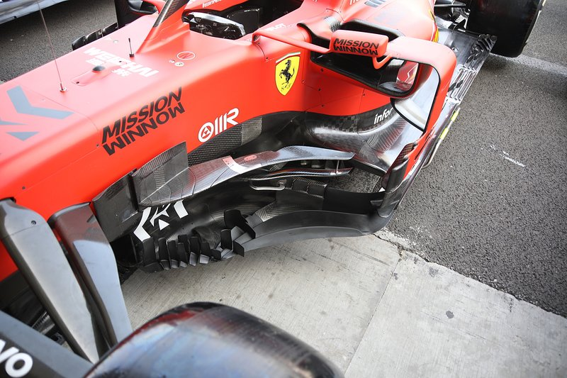 Ferrari SF90, barge board